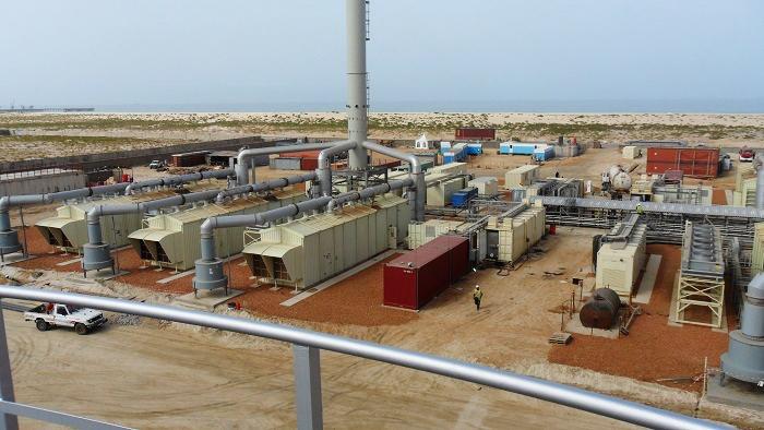 Centrale modulaire 36 MW de Nouakchott