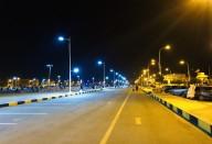 Eclairage public rue de Nouakchott